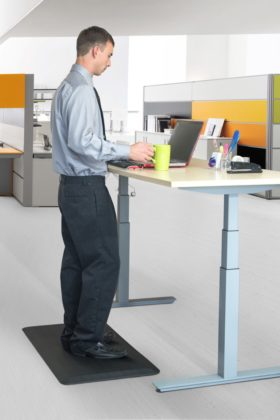 Stuff4Homes Anti-Fatigue Mat - office standing desk