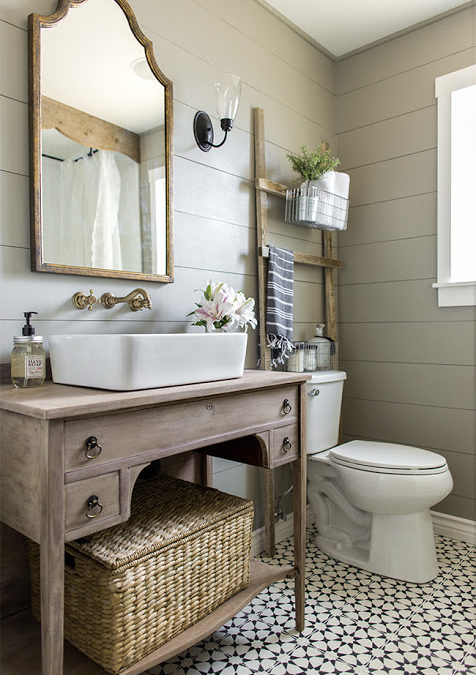 One of the Most Beautiful DIY Bathroom Renovation