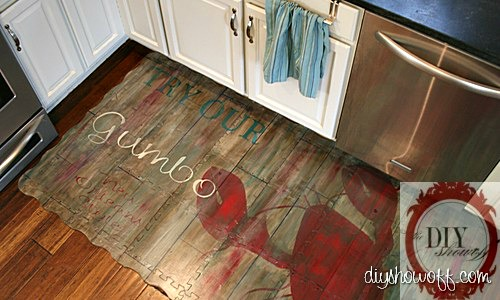 Painted Play Mat Tutorial