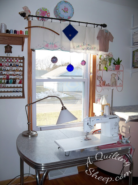 Showing My New Sewing Room
